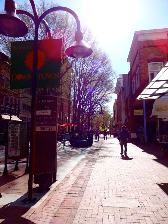 charlottesville downtown